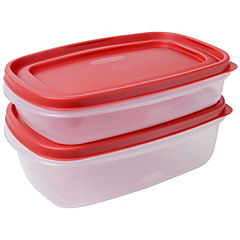 Set de contenedores de alimentos polipropileno 2 unidades