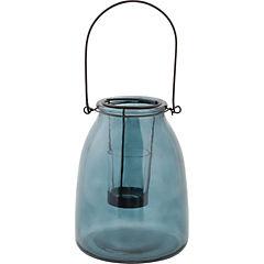 Portavelas tealight vidrio 14x18 cm