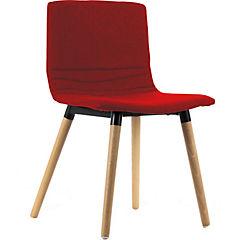 Silla 76x47x36 cm rojo