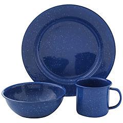 Set de platos para camping 12 unidades