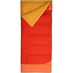 Saco de dormir 210x85 cm poliéster Rojo