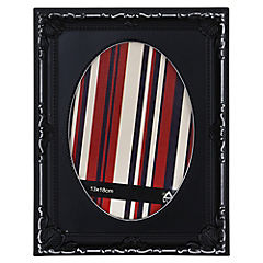 Marco de foto 13X18 cm Oval negro