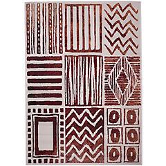 Alfombra Trend Tribal Diseños 140x200 cm