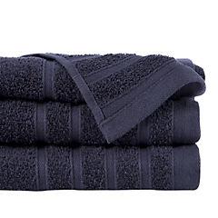 Toalla de mano negro 500 gr 50x90 cm