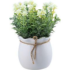 Arreglo de flores artificiales 16 cm seda