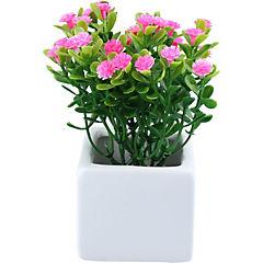 Arreglo de flores artificiales plástico