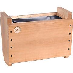 Macetero madera 16 cm Habano