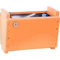 Macetero madera 16 cm Naranjo