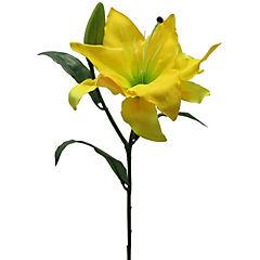 Flor artificial Casablanca amarillo 76 cm