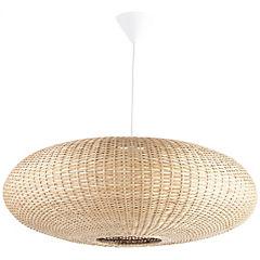 Lámpara colgante circular blanca
