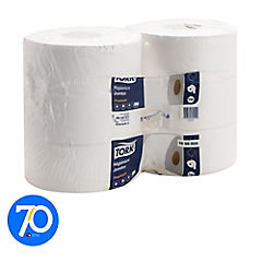 Higiénico jumbo premium 6 rollos x 25o metros hoja doble