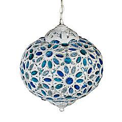 Lámpara colgante Tanger 1 l E27 40 W