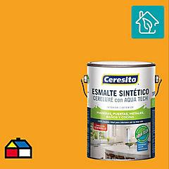 Esmalte sintético 1 galón semibrillo Amarillo