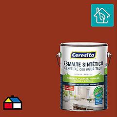 Esmalte sintético 1 galón semibrillo Ladrillo