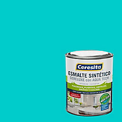 Esmalte sintético 0,25 galón semibrillo Calipso