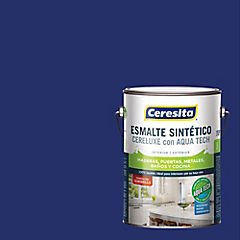 Esmalte sintético 1 galón semibrillo Azul