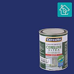 Esmalte sintético 0,25 galón semibrillo Azul