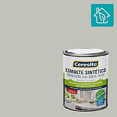 Esmalte sintético 0,25 galón semibrillo Gris