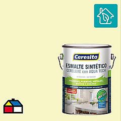 Esmalte sintético 1 galón semibrillo Blanco hueso