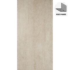 Gres porcelanato 45X90 cm Walk gris oscuro 1,62 m2