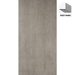 Gres porcelanato esmaltado HD 45X90 cm gris plata 1,44 m2