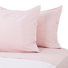 Juego de sábanas 300 hilos 2 plazas rosado
