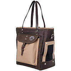 Bolso transportador para perro 37x20x35 cm