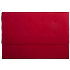 Respaldo para cama 1,5 plazas rojo