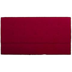 Respaldo para cama 2 plazas rojo