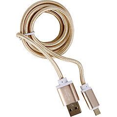 Cable USB 1 m oro