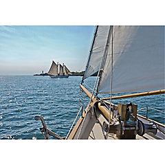 Fotomural Sailing negro 3,68x2,54 m