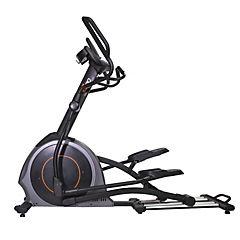Bicicleta elíptica gris