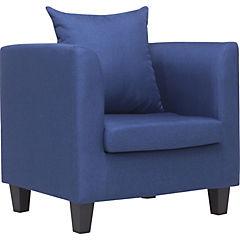 Poltrona 68x65x72 cm azul