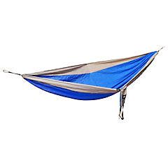 Hamaca nylon azul