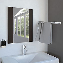Espejo flotante Madrid 45X2X60 cm