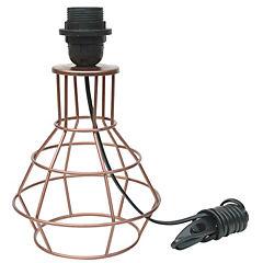 Base para lámpara de mesa E27 cobre