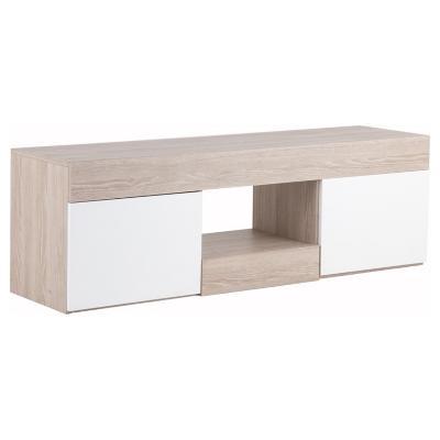 Rack de TV 150x40x49 cm Blanco/Oak -&nbspSodimac.com