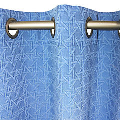 Set de cortinas poicas  4 piezas  140x220 cm