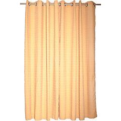 Set de cortinas poicas 4 piezas  140x220 cm oro
