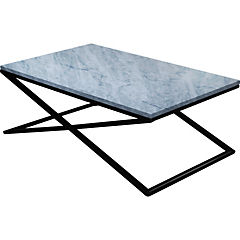 Mesa de centro Palermo 110x70x40 cm blanca