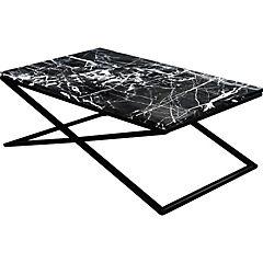 Mesa de centro Palermo 110x70x40 cm negro
