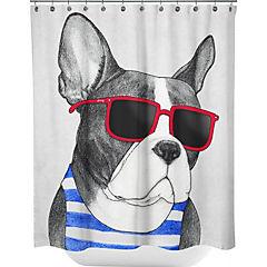 Cortina de baño Frenchie Summer Style Artista de España