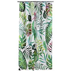 Cortina de baño Tropical Flora Artista de Ia India