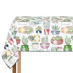 Mantel de hule Cactus Time 250x140 cm