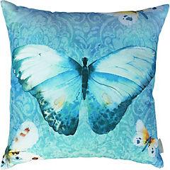 Cojín Mariposa Acuarela algodón 44x44 cm