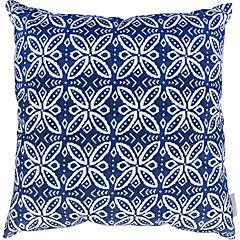 Cojín azul Mazarine polycotton 44x44 cm