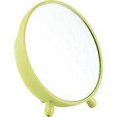Espejo redondo verde