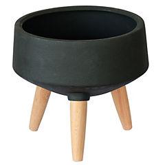 Macetero Sandy negro 29x29x26 cm