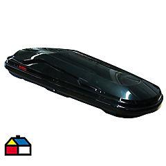 Caja portaequipaje 337 litros plástico ABS negro