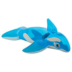 Ballena inflable modelo ride-on